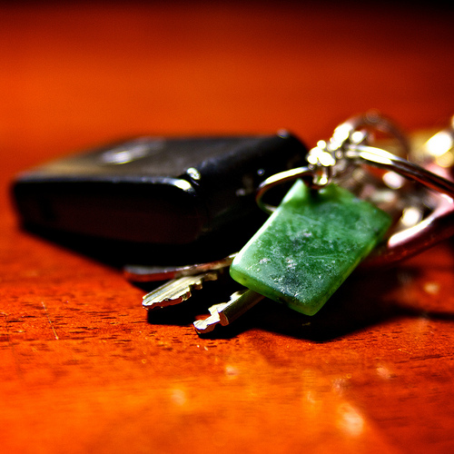 losing your keys